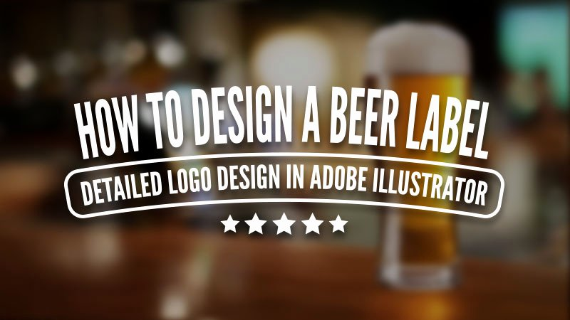 Beer Label Template Illustrator Best Of How to Design A Beer Label Detailed Logo Design In Adobe Illustrator Nigel Wilcocks