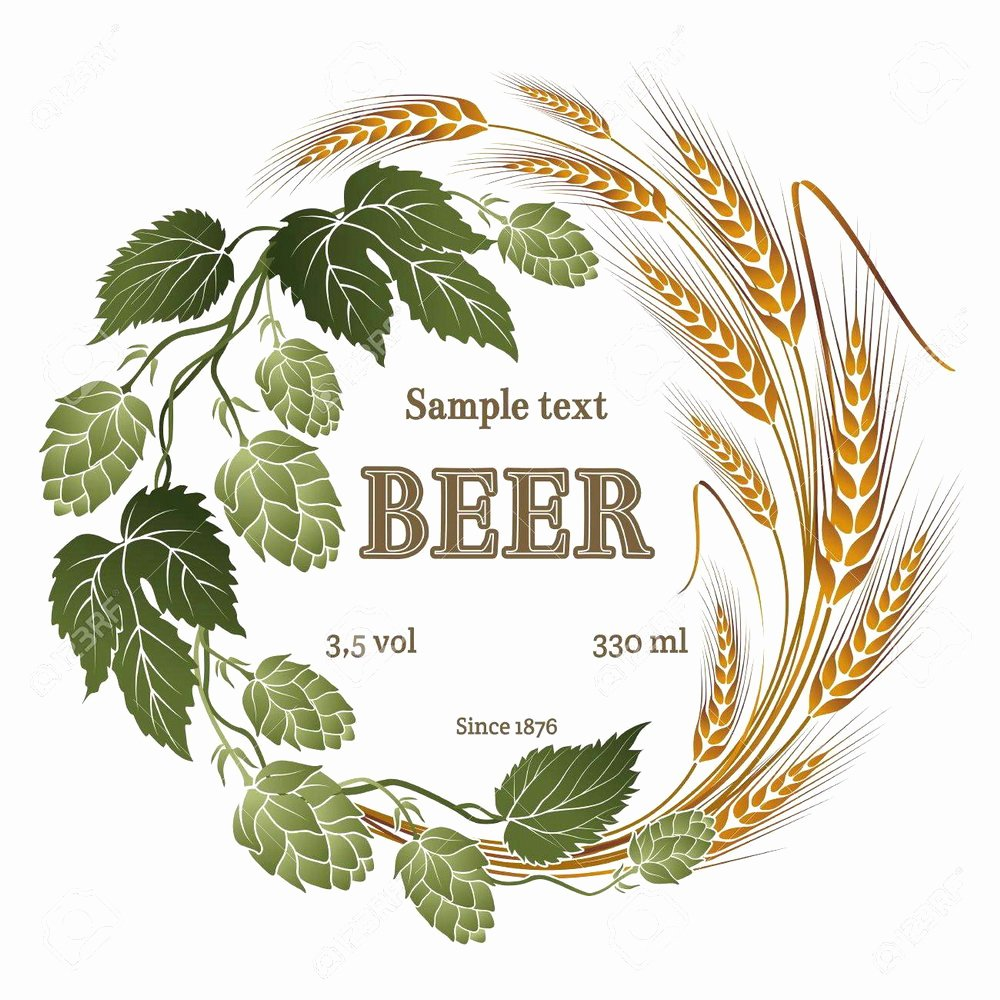 Beer Label Template Illustrator Fresh Beer Label Template Illustrator Templates