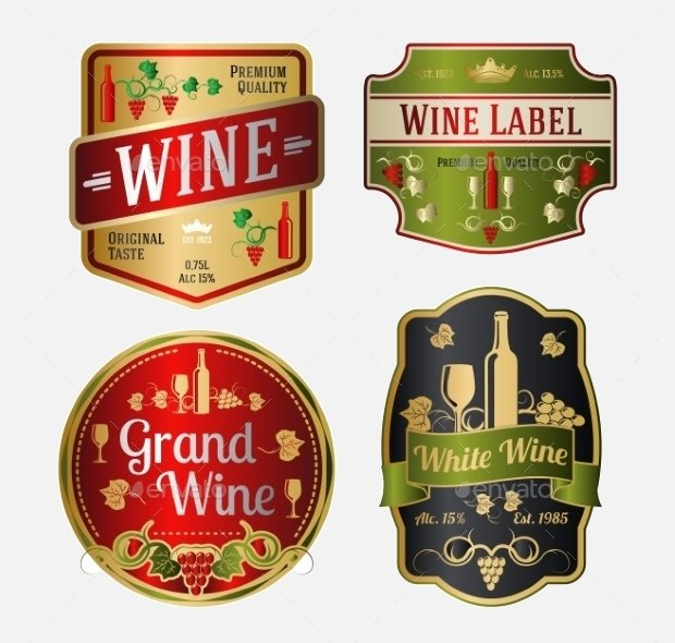 Beer Label Template Illustrator Inspirational 18 Wine Labels Psd Eps Ai Illustrator