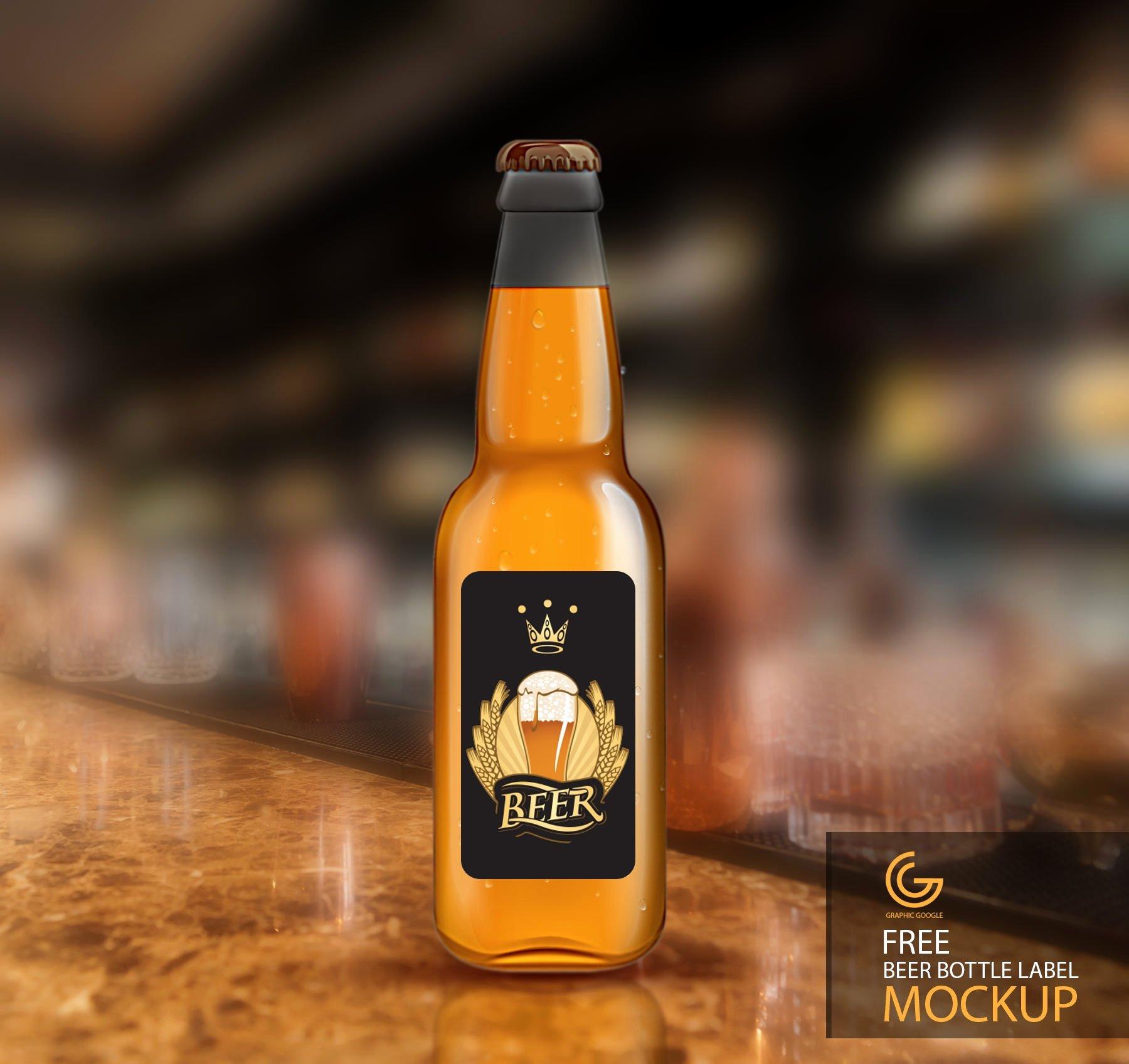 Beer Label Template Psd Beautiful 25 Free Psd Wine Bottle Mockups