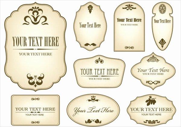 Beer Label Template Psd Elegant 12 Vintage Bottle Label Templates Free Printable Psd Word Pdf format Download
