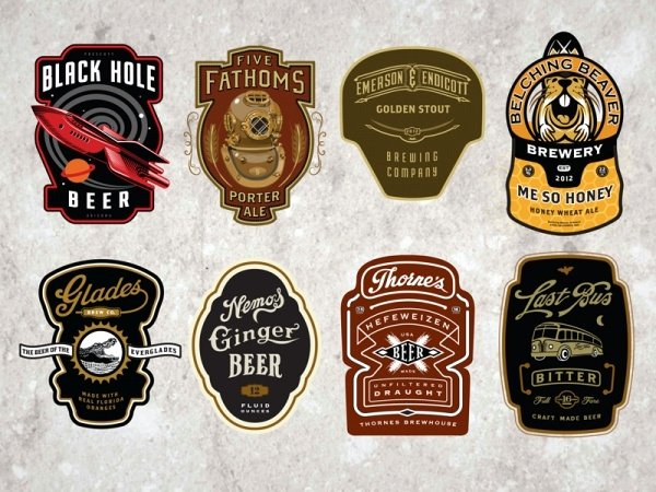 Beer Label Template Psd Luxury 23 Bottle Labels Psd Vector Eps Jpg Download