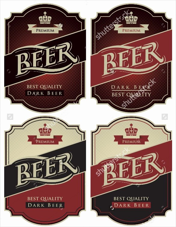 Beer Label Template Word Beautiful 27 Beer Label Templates – Free Sample Example format Download for Beer Label Template