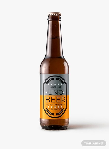 Beer Label Template Word Luxury Free Sample Beer Label Template In Psd Ms Word Publisher Illustrator Indesign Apple Pages