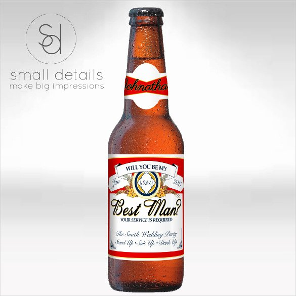 Beer Label Template Word New 29 Beer Label Templates – Free Sample Example format Download