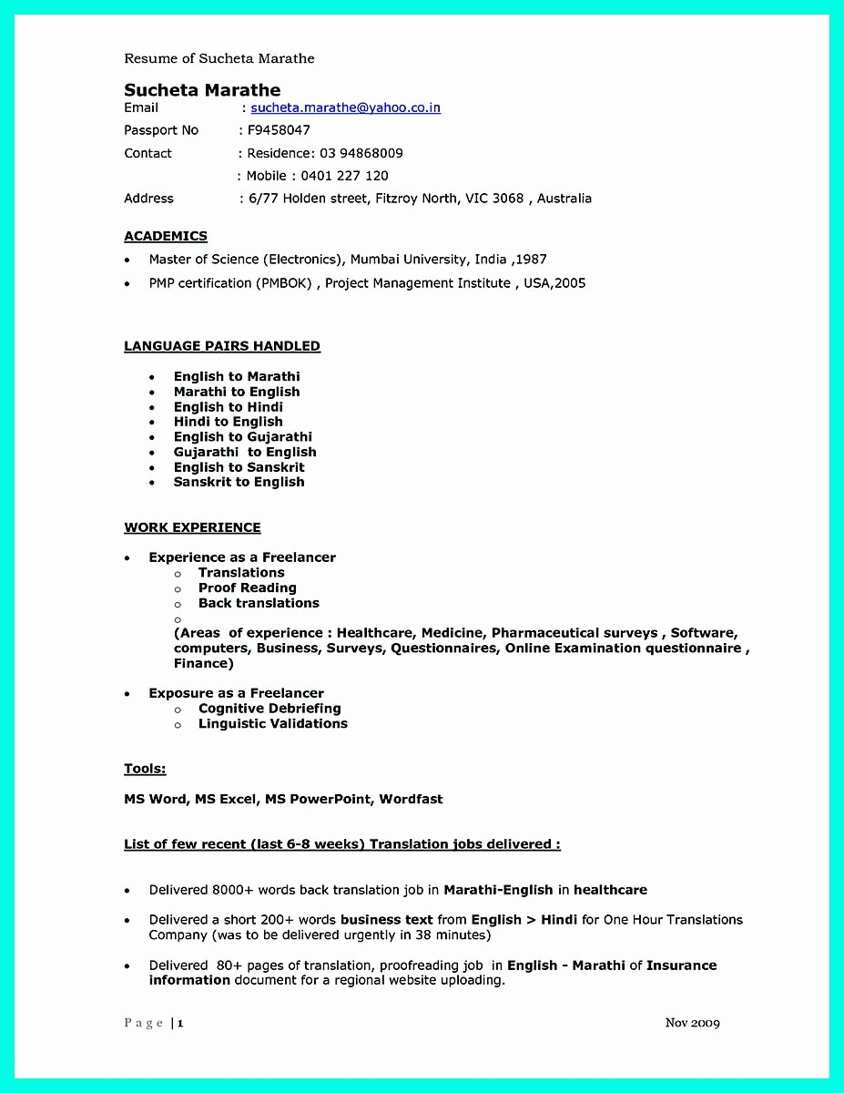 Best Computer Science Resume Beautiful the Best Puter Science Resume Sample Collection