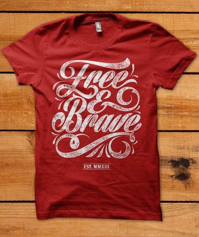 Best Fonts for T Shirts Elegant 25 Awesome T Shirt Designs