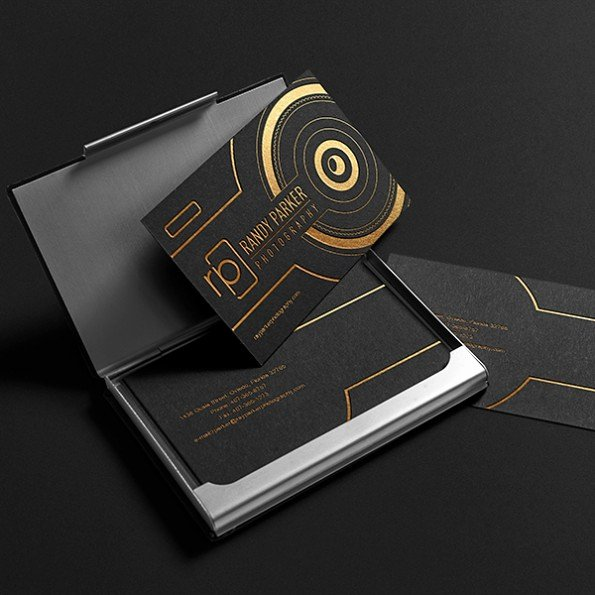 Best Photography Business Card Luxury 40 Creative Business Cards for Graphers