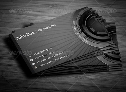 Best Photography Business Card New 17 Best Graphy Business Card Templates