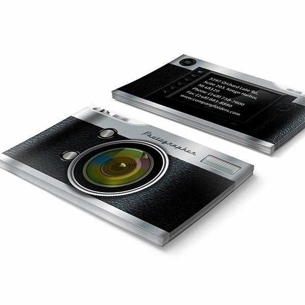 Best Photography Business Card New Camera Pocket Folder Design Template for Graphers [free Psd]