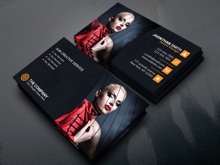 Best Photography Business Cards Unique 200 Best Business Card Mock Ups for Free Download 2018 Edition 365 Web Resources