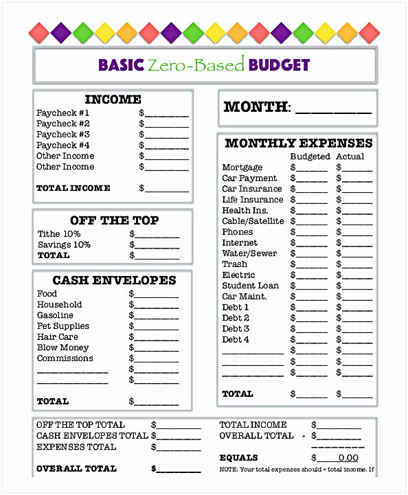 Bi Weekly Budget Worksheet Pdf Awesome Bud Worksheet Pdf