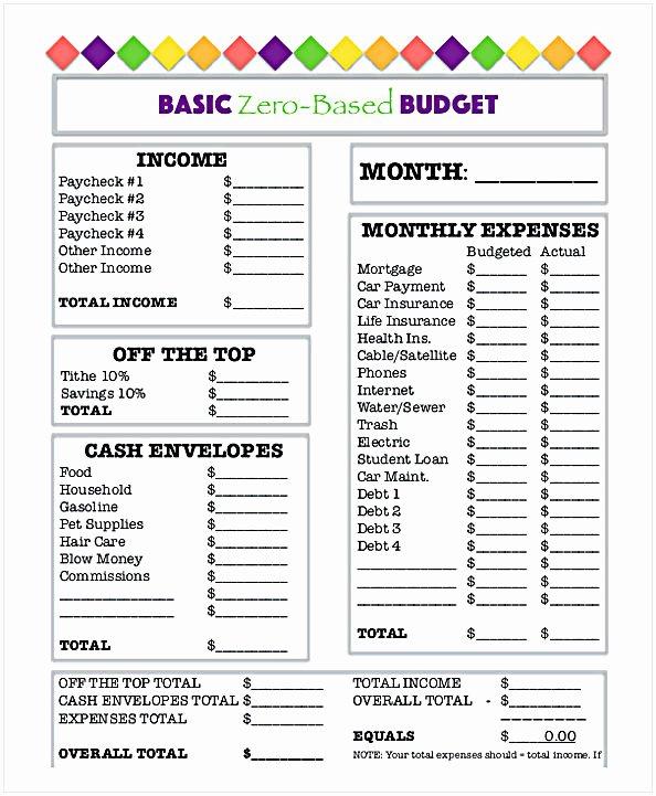 Bi Weekly Budget Worksheet Pdf Awesome Bud Worksheet Pdf
