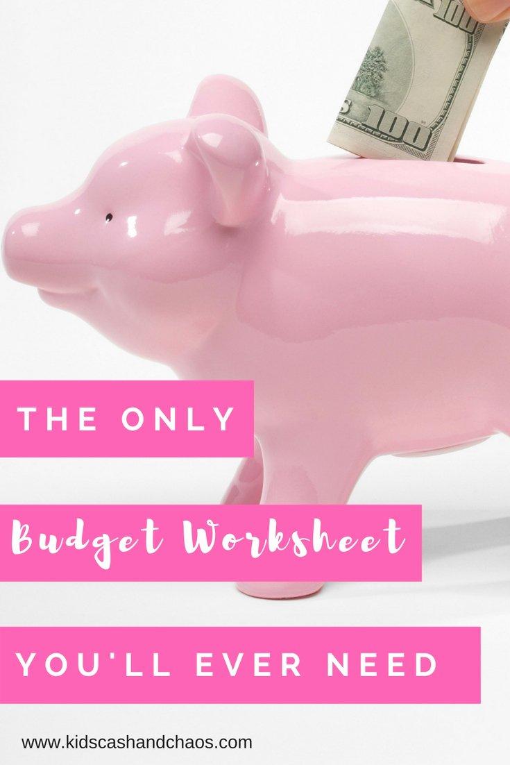 Bi Weekly Budget Worksheet Pdf Lovely Bud Ing Archives Money Saving Mom