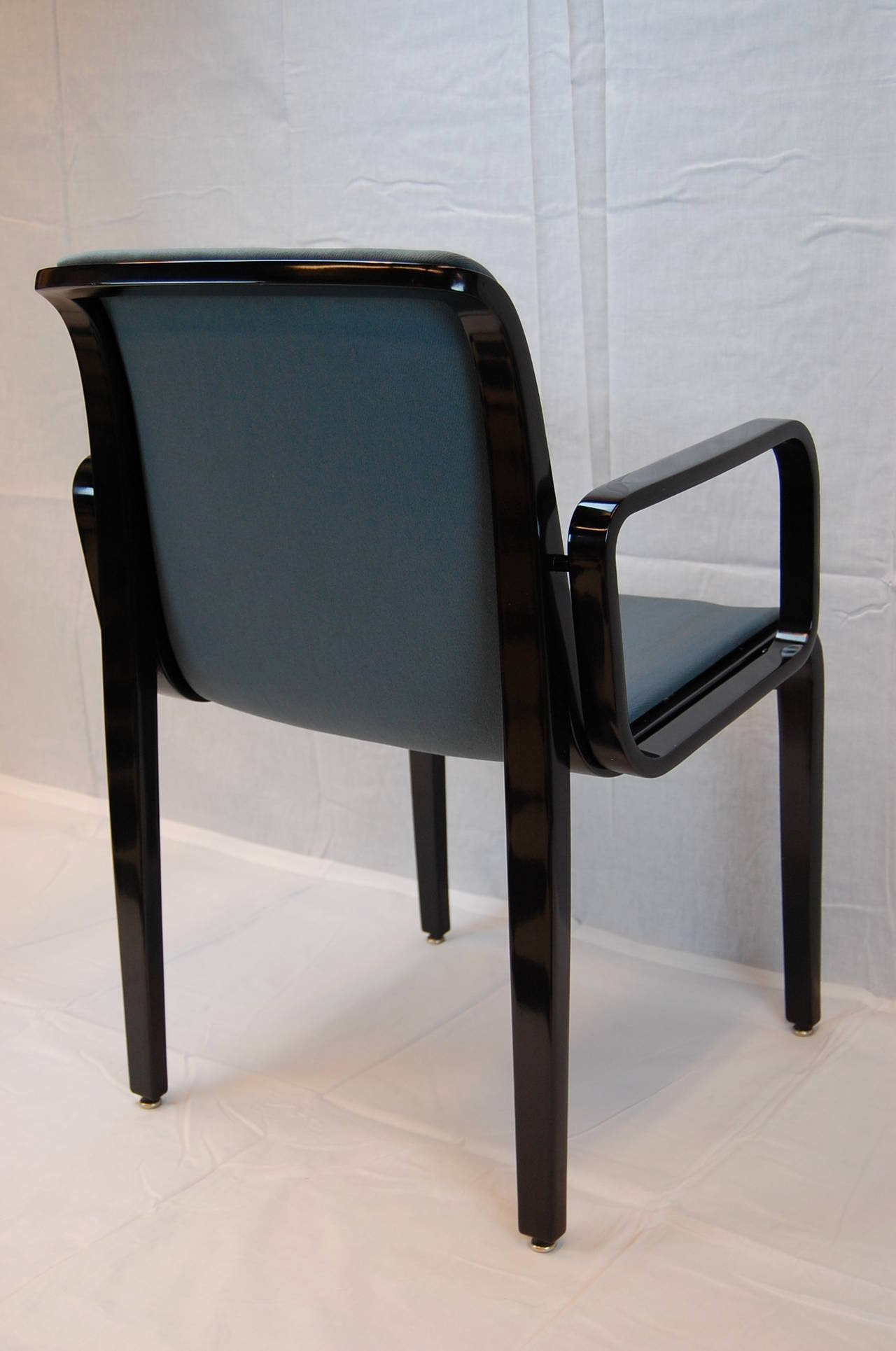 Bill Of Sale for Furniture Luxury Black Lacquered Armchair by Bill Stephens for Knoll Furniture for Sale at 1stdibs