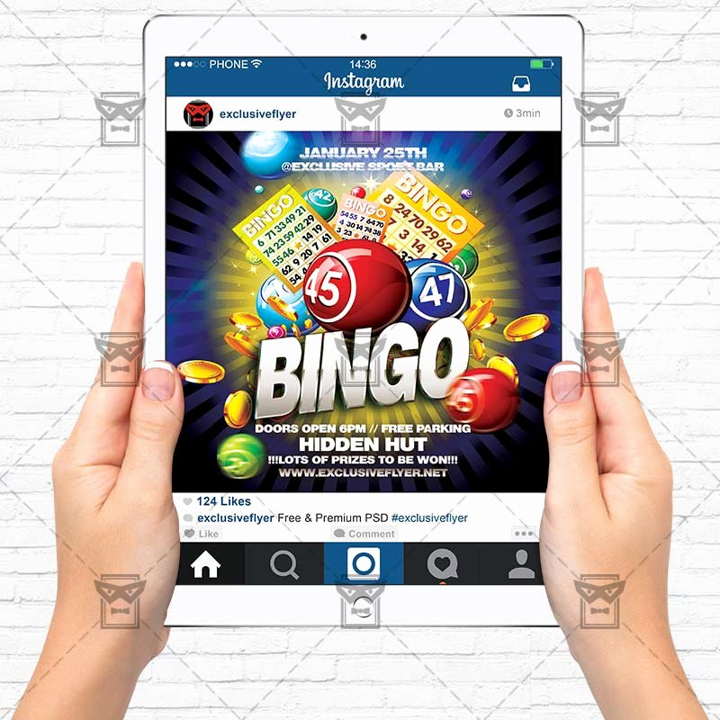 Bingo Flyer Template Free Best Of Bingo Day – Premium Flyer Template Exclsiveflyer