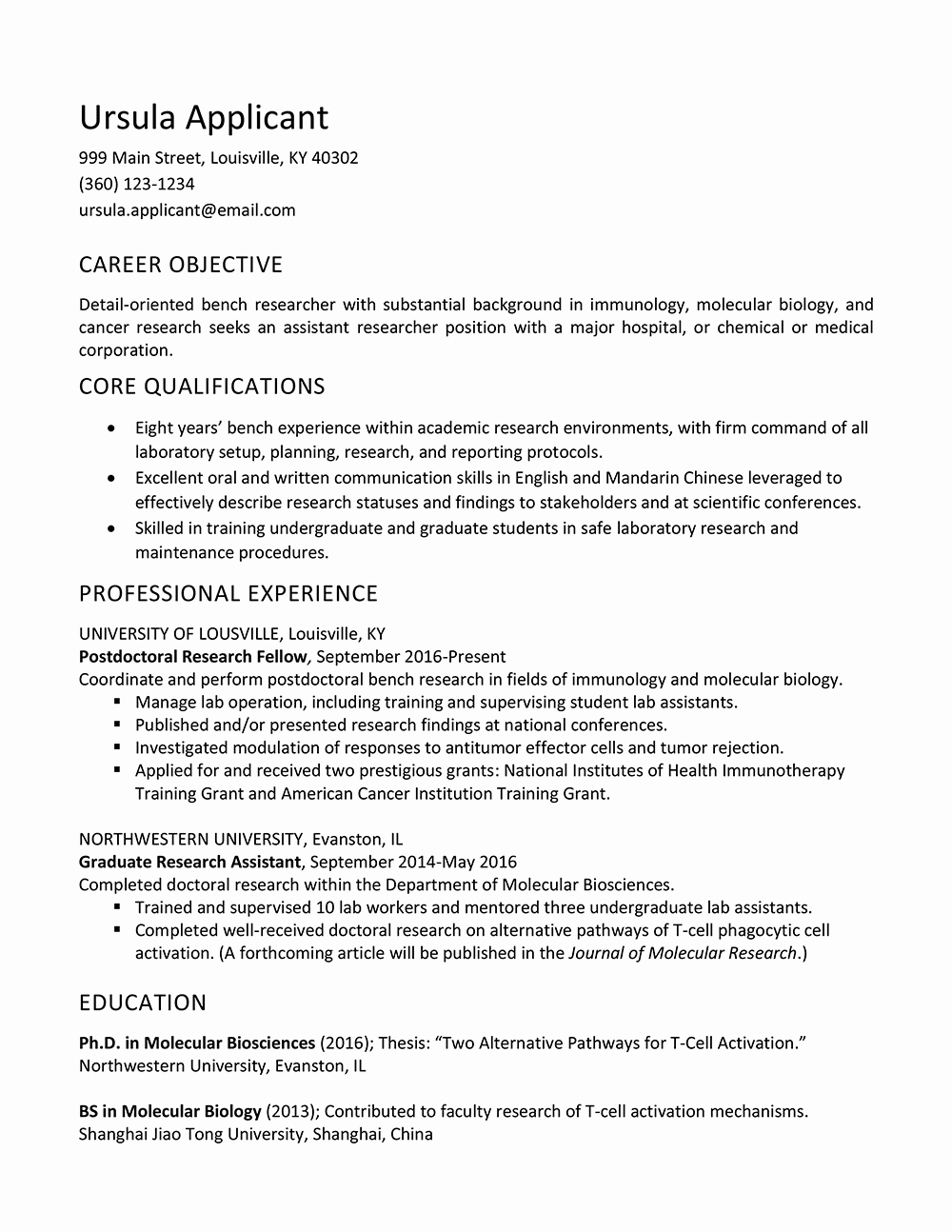 Biology Research assistant Resume Luxury Research assistant Resume Description