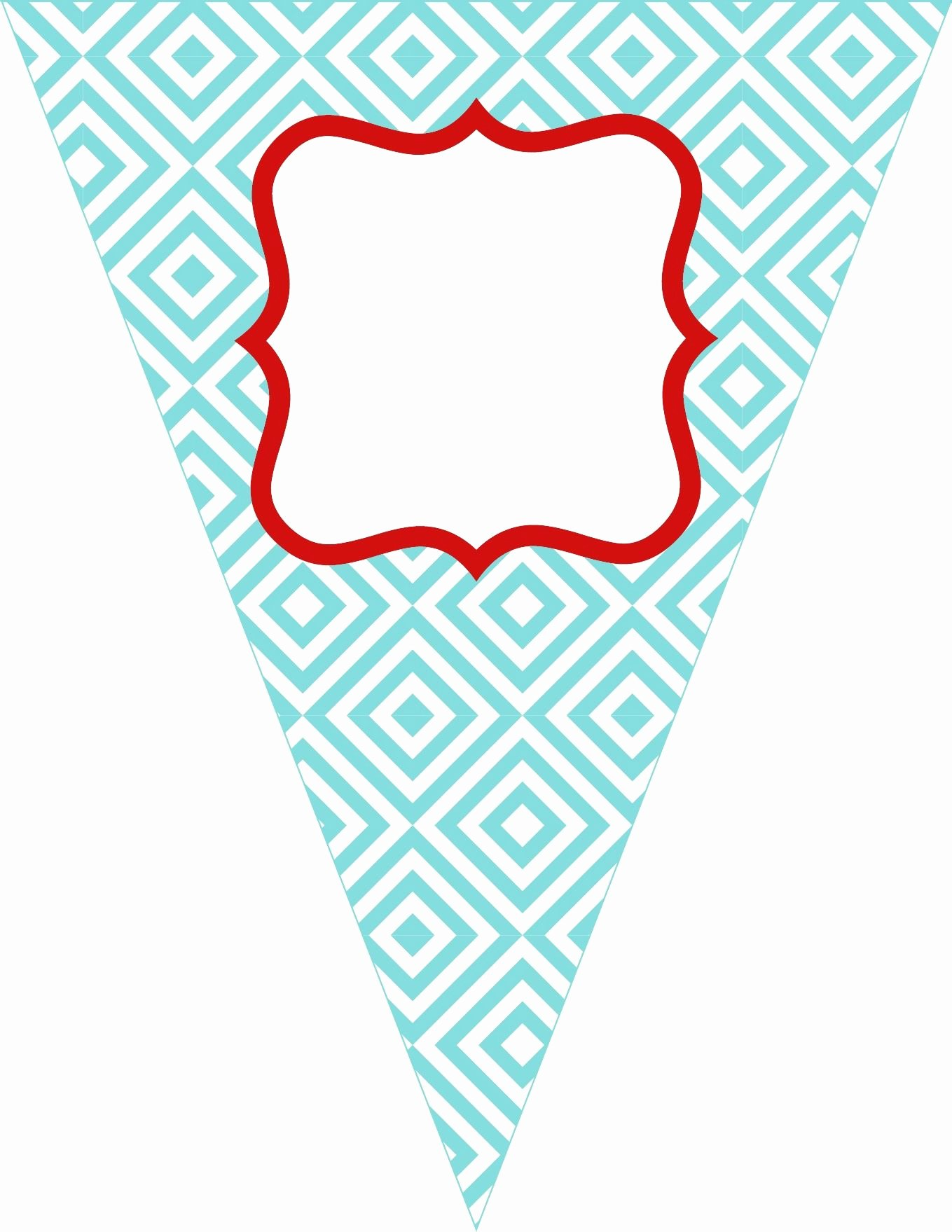 Birthday Banner Template Free Beautiful Free Printable Bunting Love these Colors the Colors I Want to Use for Tessa S 1st Birthday