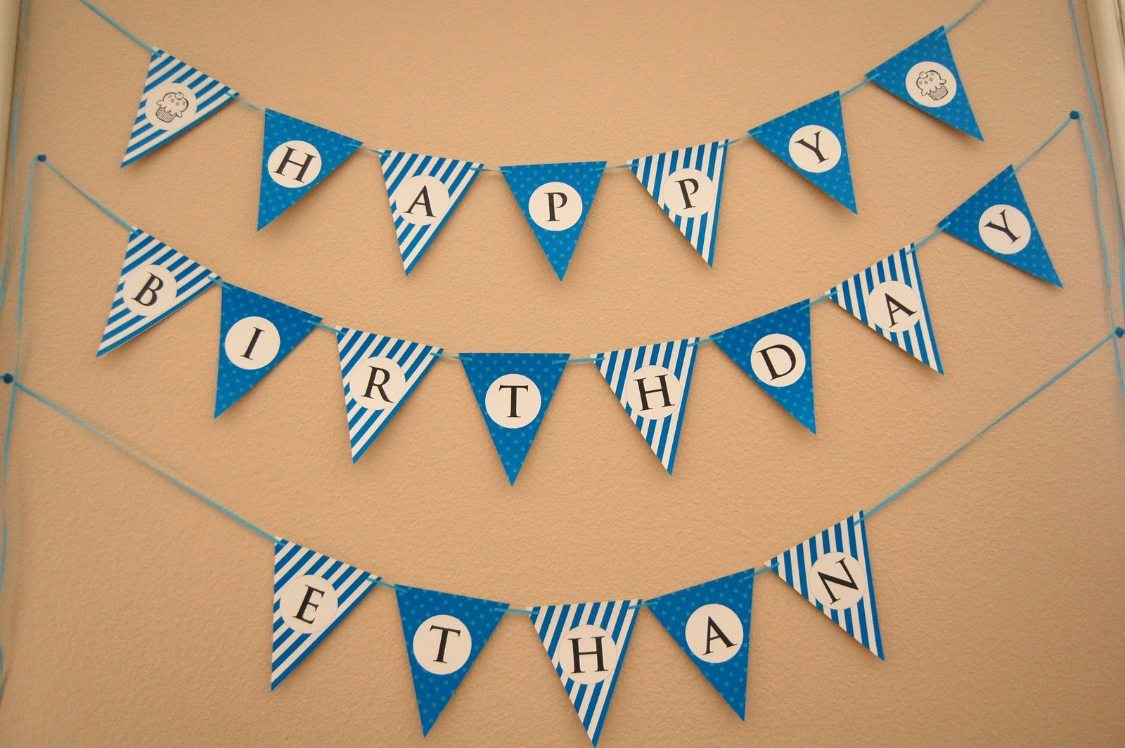 Birthday Banner Template Free Unique Flipawoo Invitation and Party Designs Happy Birthday Bunting Banner Free Printable