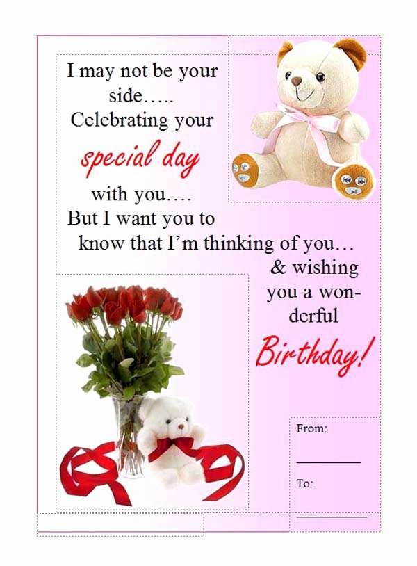 Birthday Card Template Word Awesome Birthday Card Template