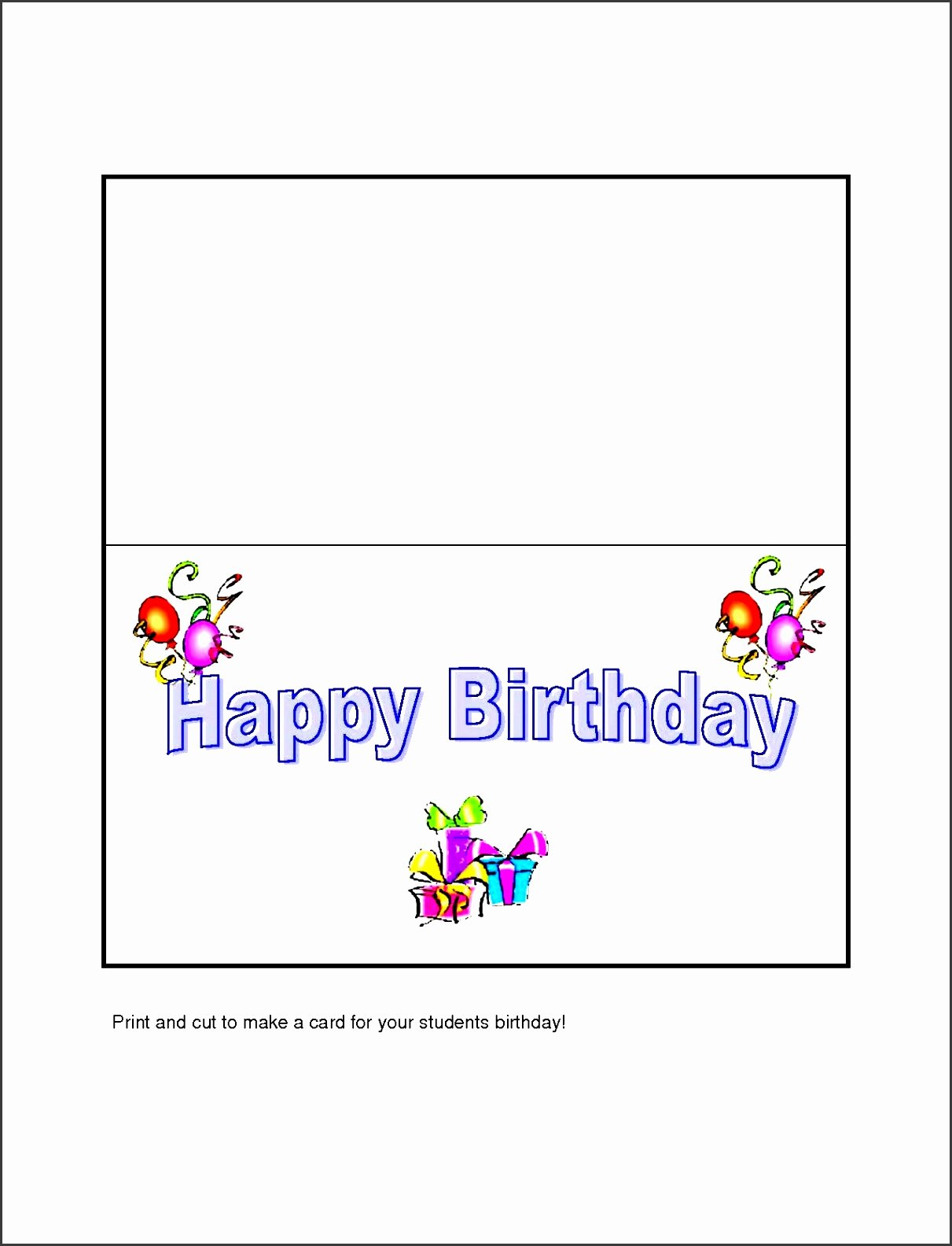 Birthday Card Template Word Inspirational 10 Free Microsoft Word Greeting Card Templates Sampletemplatess Sampletemplatess