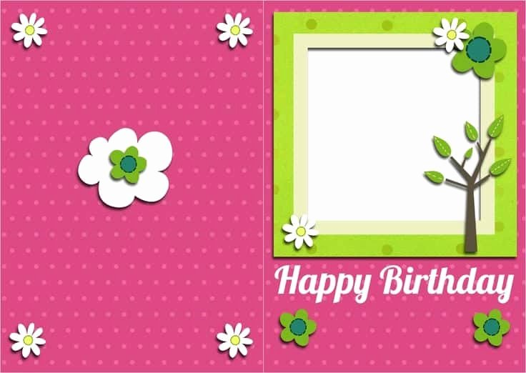 Birthday Card Template Word Inspirational top 5 Free Birthday Card Templates Word Templates Excel Templates