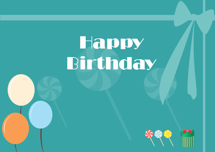 Birthday Card Template Word Lovely Free Editable and Printable Birthday Card Templates