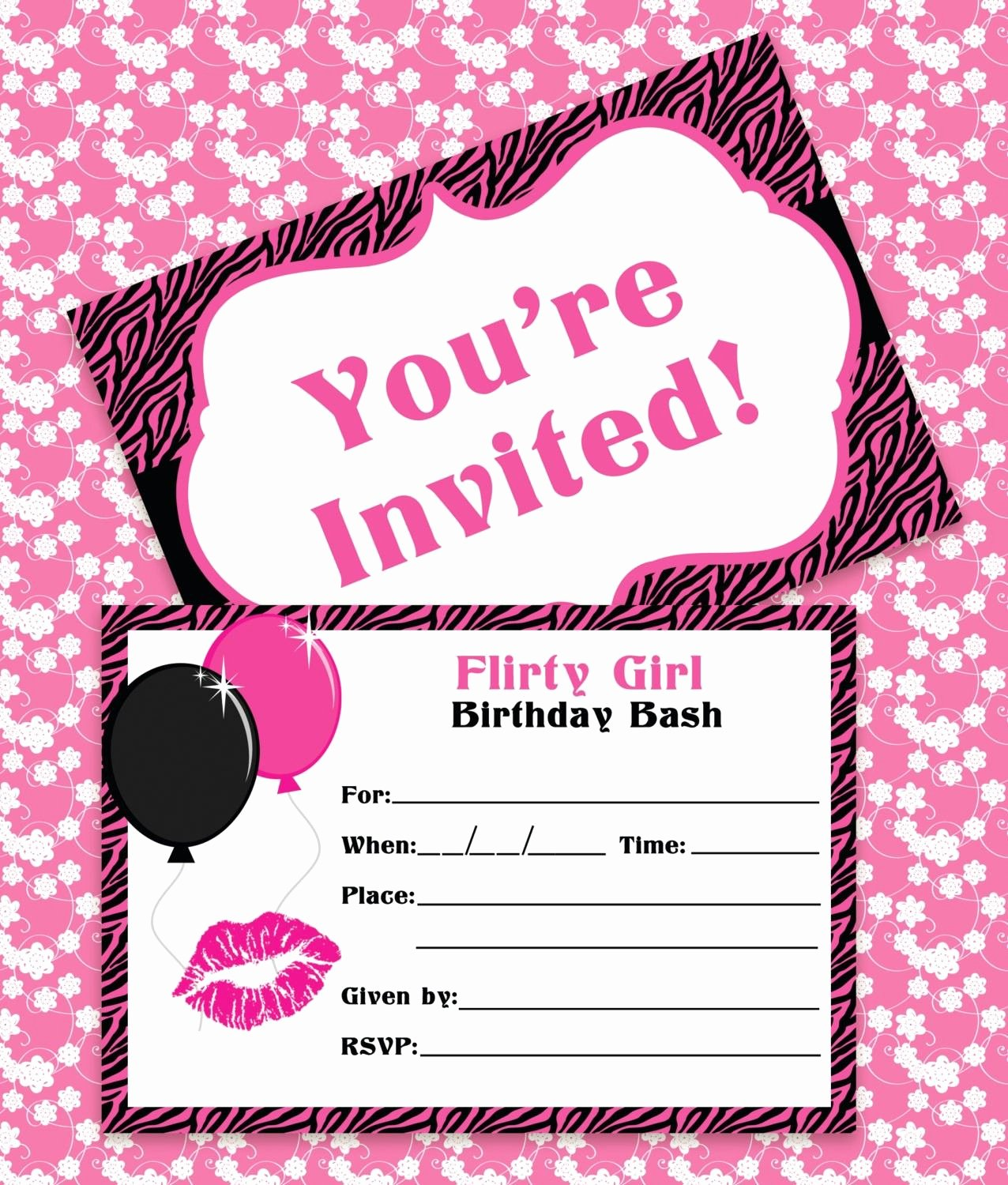 Birthday Invitations for Teenage Girl Awesome Birthday Invitations Classic Fine Pink Color themed Free