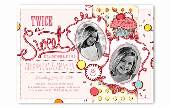 Birthday Invitations for Teenage Girl Best Of 28 Teenage Birthday Invitation Templates – Psd Ai