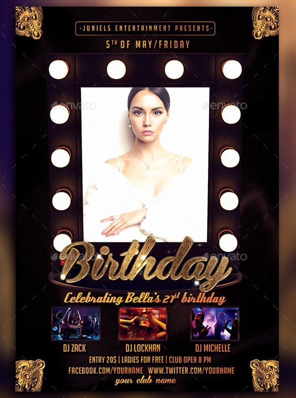 Birthday Party Flyer Templates Free Beautiful Microsoft Birthday Party Flyer Templatesdownload Free software Programs Line Teamwaves