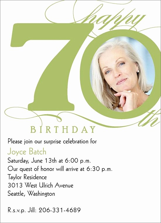 Birthday Party Program Outline Awesome 70th Birthday Party Invitations Ideas for Him – Bagvania Free Printable Invitation Template