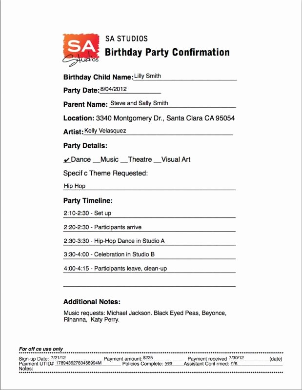 Birthday Party Program Template Beautiful Meeting Itinerary Template