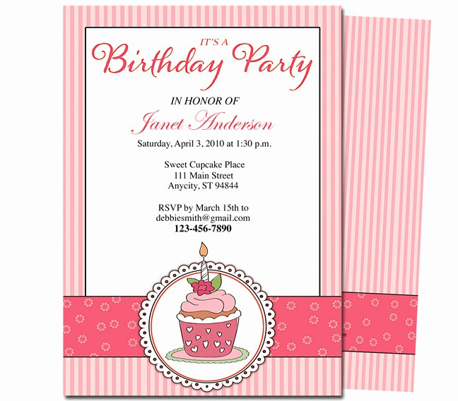 Birthday Party Program Template Elegant 7 Best Of Free Printable Birthday Program Templates 50th Birthday Party Program
