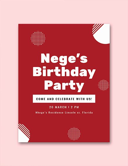 Birthday Party Program Template Fresh Free 25 Program Examples In Pdf Ai Pages Google Docs