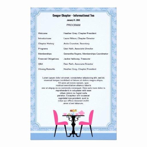 Birthday Party Program Template Lovely 13 Best S Of Printable Birthday Party Program Template Birthday Party Program Template