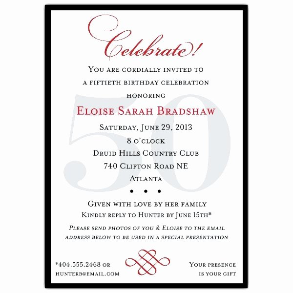 Birthday Party Program Template Unique Classic 100th Birthday Celebrate Party Invitations