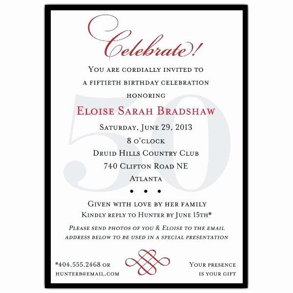 Birthday Party Program Template Unique Classic 100th Birthday Celebrate Party Invitations