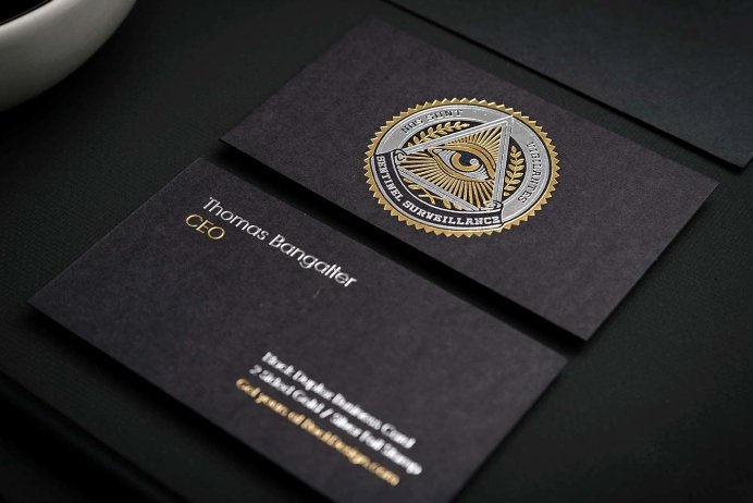 Black and Gold Business Cards Awesome Black Business Cards