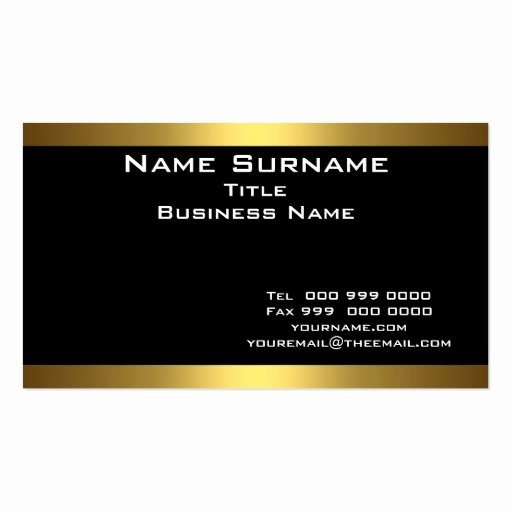 Black and Gold Business Cards Inspirational Best Black and Gold Business Cards