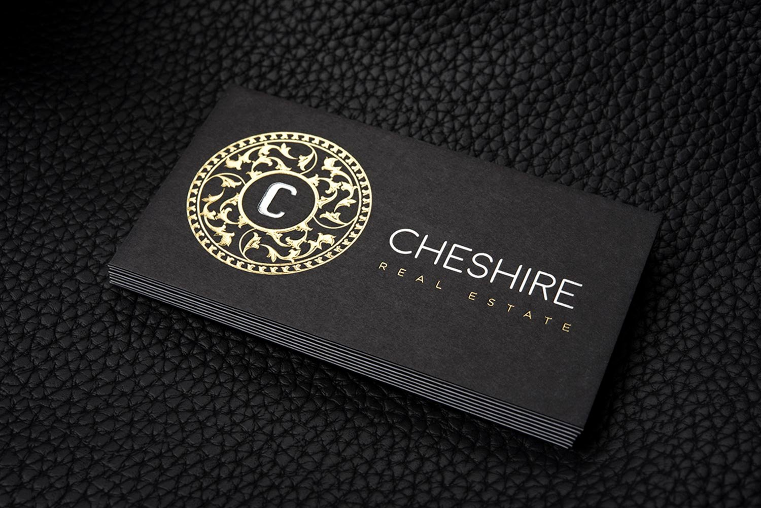 Black and Gold Business Cards Lovely Free Luxurious Gold and Silver Foil Black Business Card Template Cheshire
