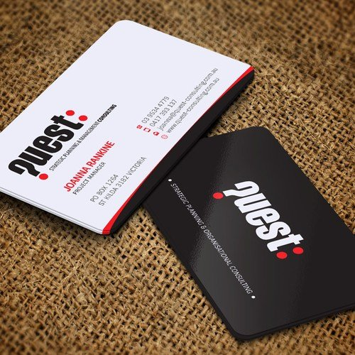 Black and Red Business Cards Best Of Help Quest Refresh Our Business Card Give Us New Colours Change From Red & Black