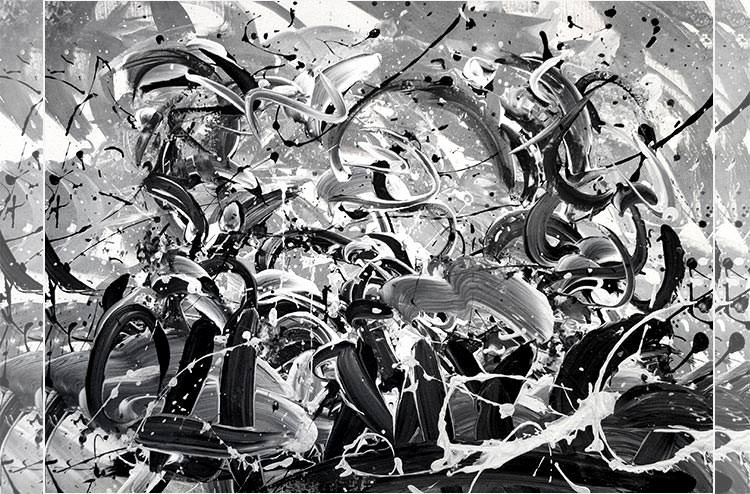 Black and White Abstract Artwork Awesome Black and White Abstract Painting Abstract Painting