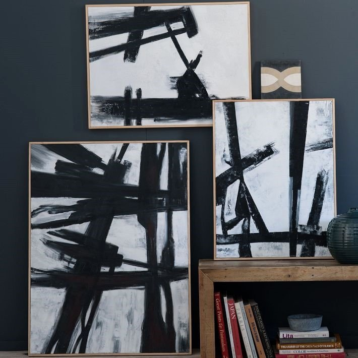Black and White Abstract Artwork Elegant Black and White Abstract Art Anyone Can Paint