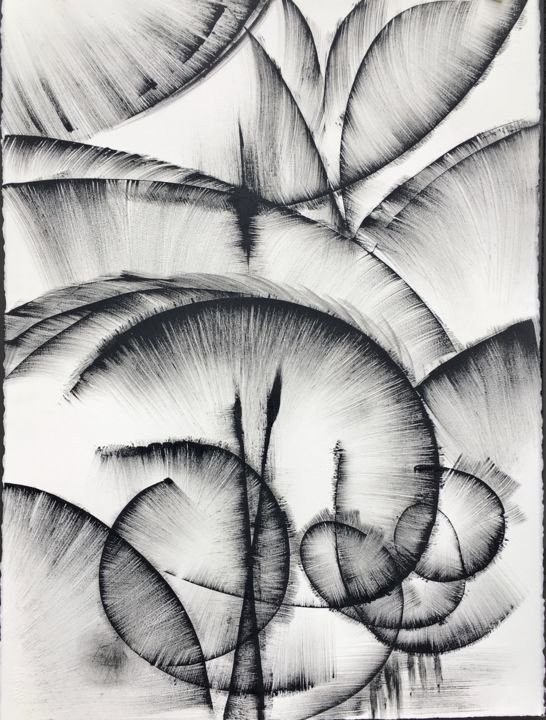 Black and White Abstract Artwork Luxury Black and White Abstract Drawing 2 Drawing by Khrystyna Kozyuk
