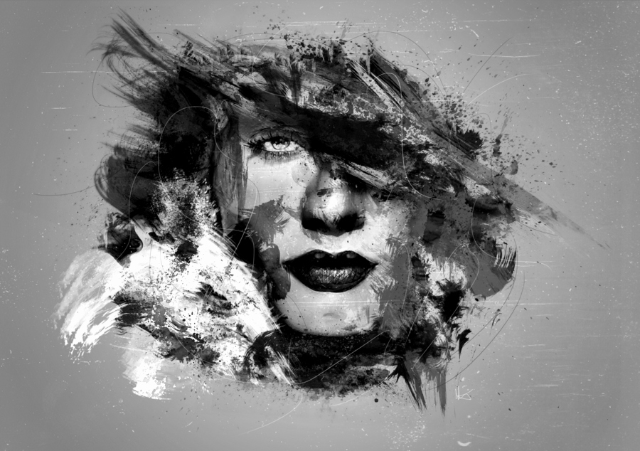 Black and White Abstract Painting Elegant Black and White Abstract Art 26 Free Hd Wallpaper Hdblackwallpaper