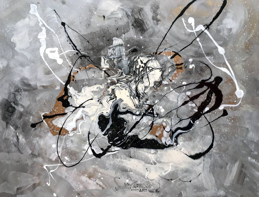 Black and White Abstract Painting Lovely Black and White Abstract Art Grace Under Pressure
