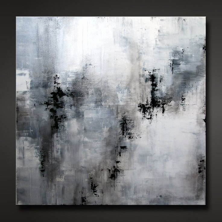 Black and White Abstract Paintings Best Of Abstract Painting Contemporary Modern Design Neutral