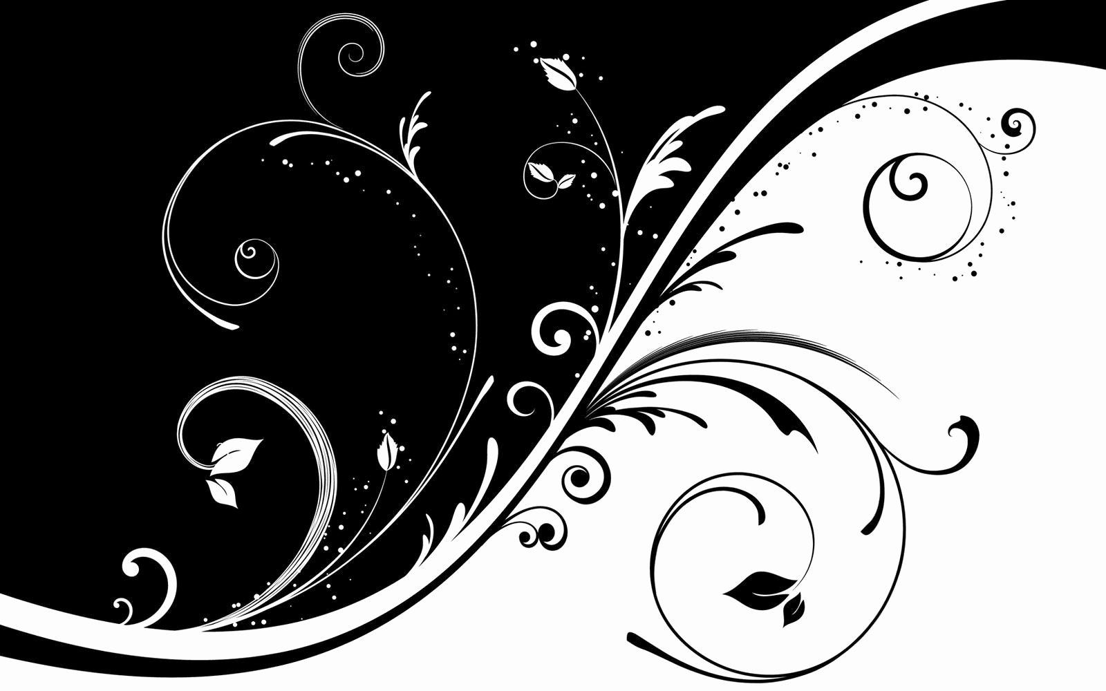 Black and White Abstract Paintings Best Of Black & White Floral Wallpapers