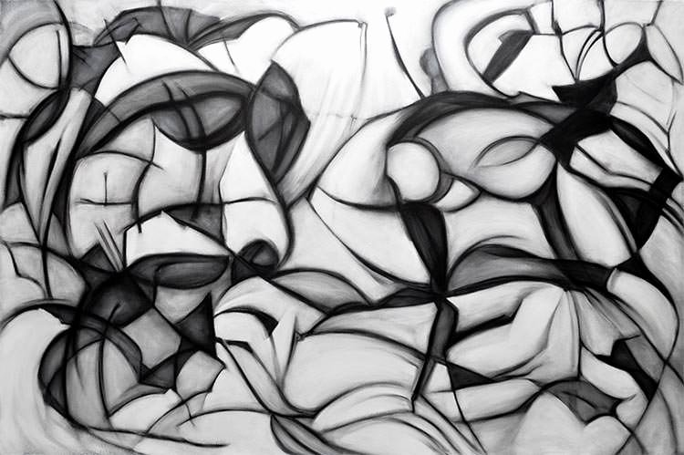 Black and White Abstract Paintings Best Of Black and White Abstract Painting Abstract Painting