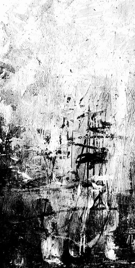Black and White Abstract Paintings Fresh Old Memories Black and White Abstract Art by Laura Gomez